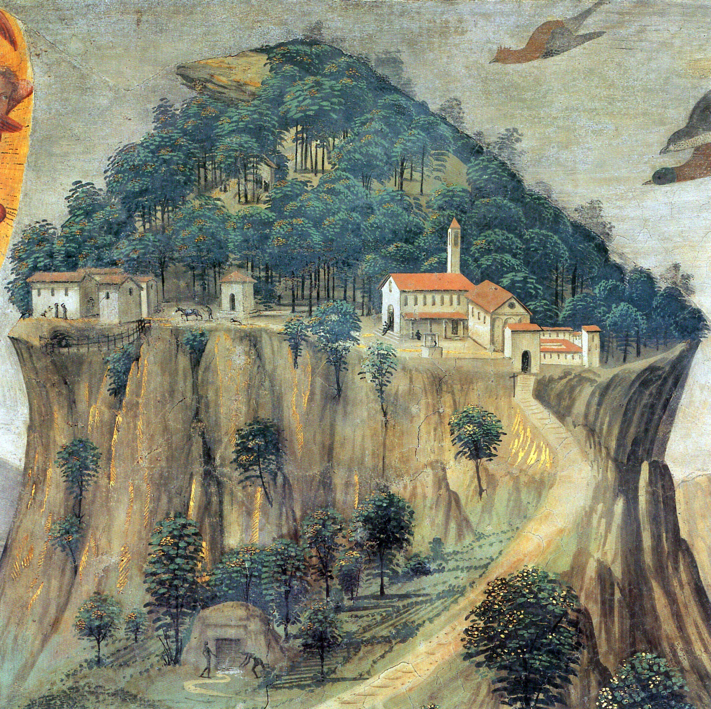 History La Verna Franciscan Sanctuary